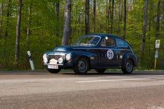 1961 Volvo PV 544 bij ADAC Wurttemberg Historische Rallye 2013 Stock Foto's