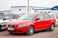 Volvo S40 Foto de Stock Royalty Free