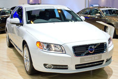 Volvo S 80 Car on Display. Royalty Free Stock Photos