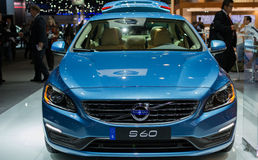 Volvo S60 car on display at the LA Auto Show. Stock Photos