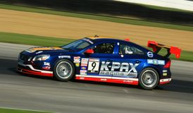 Volvo S60 race car on the track Stock Photography