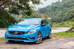Volvo S60 2017 Test Drive Day Royalty Free Stock Photography