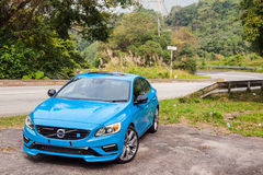 Volvo S60 2017 Test Drive Day Stock Photography