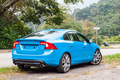 Volvo S60 2017 Test Drive Day Royalty Free Stock Image