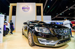Volvo s60 Thailand motor show. Stock Photos