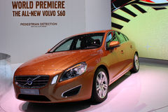 Volvo S60 at the Motor Show 2010, Geneva Stock Photo