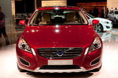 Volvo S60 - Premier do russo Foto de Stock