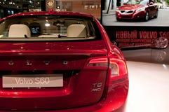 Volvo S60 - Russian premiere Stock Photography