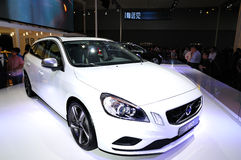 VOLVO S60 (White Edition) Stock Photo