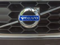 Volvo samochodu emblemat fotografia stock
