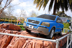Volvo SUV Built Out of Legos Stock Images