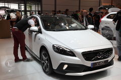 Volvo V40 Cross Country at the AMI. Leipzig, Germany Royalty Free Stock Photography