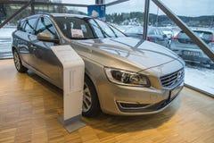 2014 Volvo V60 D2 SS Momentum Stock Image