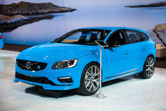 Volvo V60 at the Chicago Auto Show Stock Images