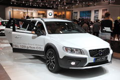 Volvo XC70 at the AMI. Leipzig, Germany Stock Photos