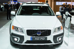 VOLVO XC70 car on display at the LA Auto Show. Royalty Free Stock Images