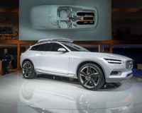 Volvo XC Coupe Stock Photography