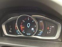 Volvo XC70 dashboard Royalty Free Stock Image