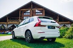 Volvo XC60 prezentaci 2018 wydarzenie Fotografia Stock