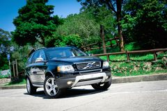 Volvo XC 90 T5 AWD Stock Photos