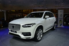 VOLVO XC90 T8 hybrid SUV Stock Photography