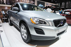 Volvo xc60 2.0t. Road to China's West - 13th Chengdu Motor Show,September 18th-24th,2010 stock image