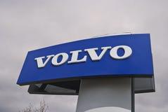 Volvo-Zeichen Stockfoto