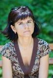 Volwassen vrouw Stock Afbeelding