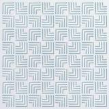 Volymetrisk linjär abstrakt bakgrund med en blå ton royaltyfri illustrationer