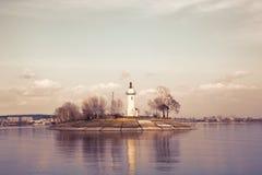 Volzhsky-Leuchtturm Stockfotos