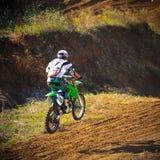 Volzhsky sand - closing season 2015. Stock Photography