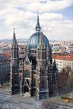 教会玛丽亚围困维也纳vom 免版税图库摄影