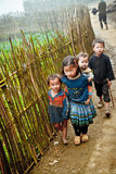 24. vom Dezember 2012, Sapa-Dorf, Vietnam Stockbild