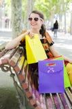 Vom Einkaufen Stockfotos