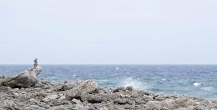 Vom Felsen und vom Meer Lizenzfreies Stockfoto