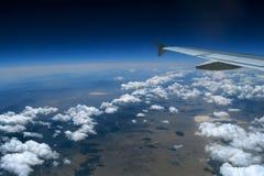 Vom Flugzeug Lizenzfreies Stockbild