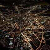Vom Flugzeug lizenzfreies stockfoto