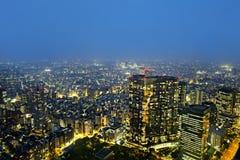 Vom freien observator des Regierungsgebäudes Tokyos Metroplitan Stockfotos