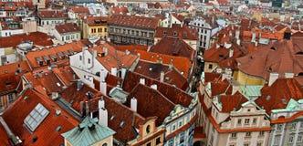 Vom Glockenturm Stockfotografie