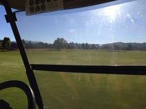 Vom Golfmobil Lizenzfreie Stockfotos