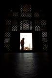 Vom Grab von Akbar das große heraus schauen stockfoto