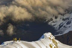 Vom Himmel zum Land lizenzfreie stockfotografie