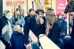 21. vom Januar 2017, Marsch von Frauen Lizenzfreie Stockbilder