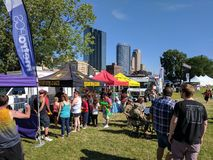 4. vom Juli 2017 Grand Rapids, MI Lizenzfreie Stockfotografie