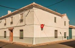 Vom La Mancha, ländliches Spanien stockbild