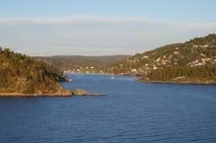 Vom Oslofjord stockbild