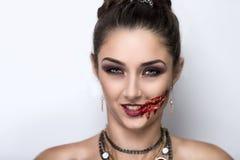 Voman zombie Stock Photo