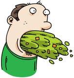 vomit шаржа Стоковые Фото