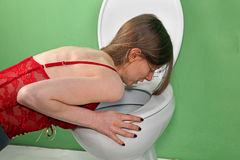 Vomiting Stock Photos
