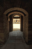 Vomitory of the Roman Amphitheater of Italica, Andalusia, Spain Royalty Free Stock Photo